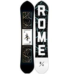 Rome Snowboards Rk1 Alek Agent Snowboard, Black, 155